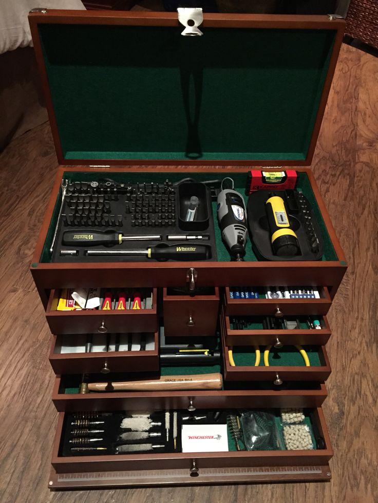 Gunsmithing tool box.