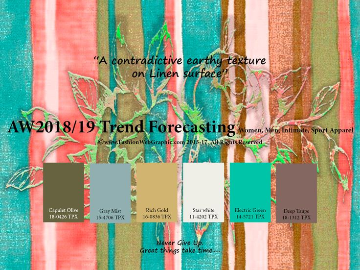 34 best FW 2018/2019 images on Pinterest | Color trends ...