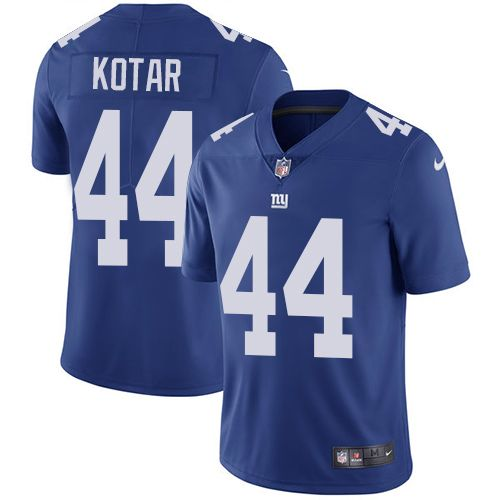 nike giants eli apple royal blue team color youth stitched nfl vapor untouchable limited jersey and