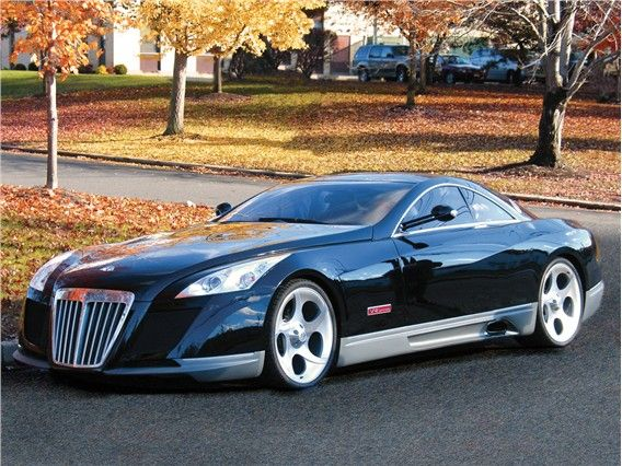 Mercedes Exelero - a concept car modified especially for FULDA and then unleashed on streets
