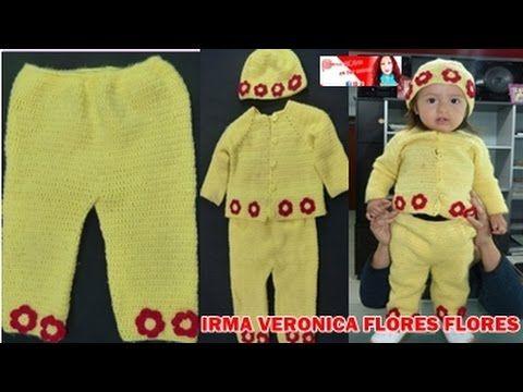 PANTALONCITO PARA BEBE / BABY PANTS - YouTube