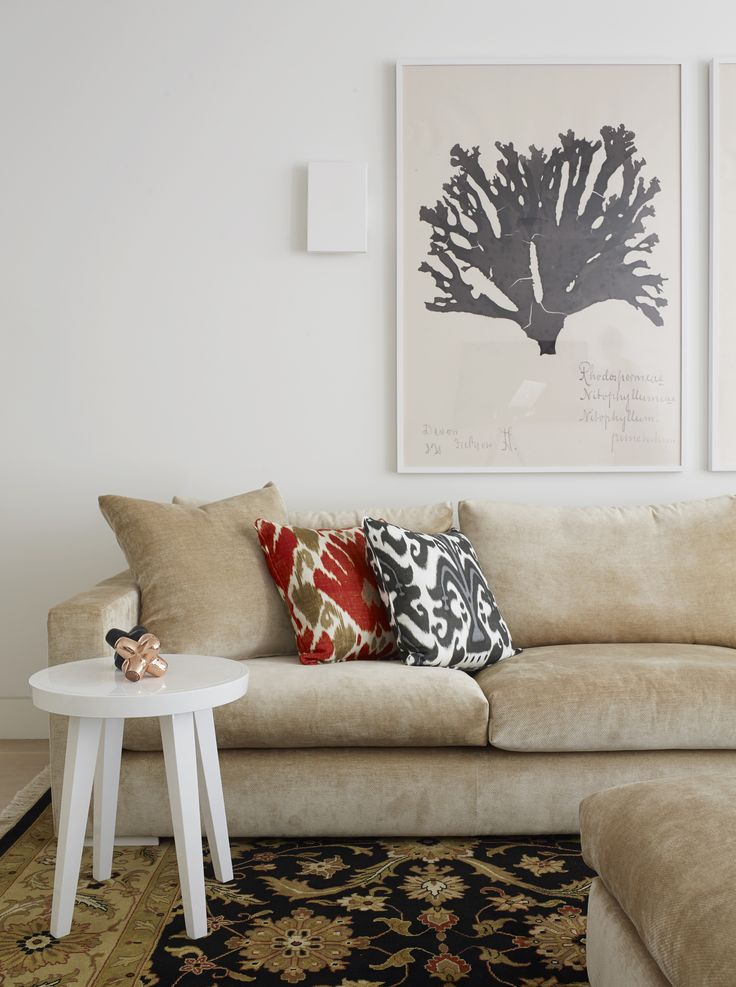 Interior design by Greg Natale Cushions by