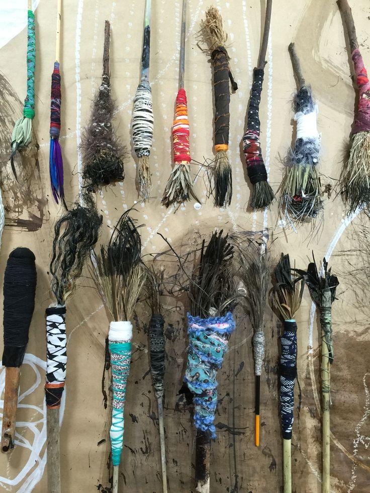 Handmade Brushes by Lorna Crane - Australia