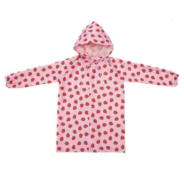 2-4 years old Kids Rain Coat children Raincoat Rainwear Rainsuit,Kids Waterproof Cute Animal Raincoat Free Shipping