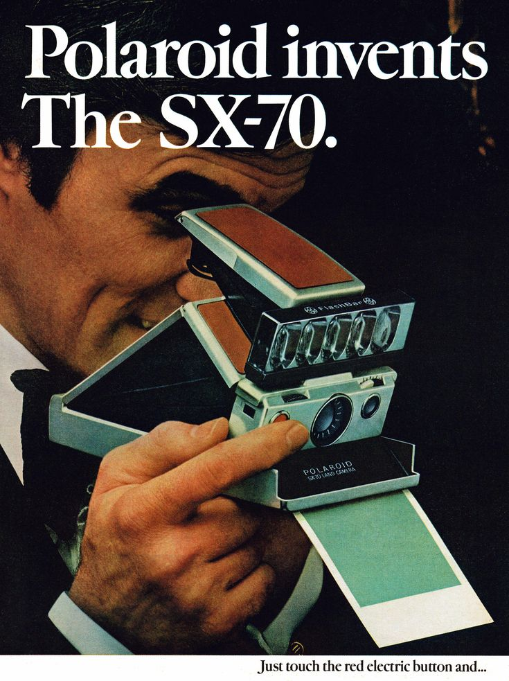 Polaroid Camera, 1974. I really want a Polaroid. They are just so vintage and chic. Gotta love