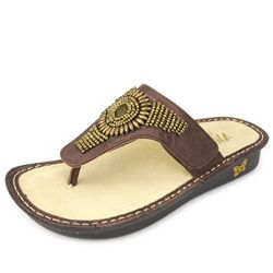 Click here for AlegriaShoeShop.com and the Vanessa Bronze Hand Craft sandal by Alegria Shoes.  Comfort, style,