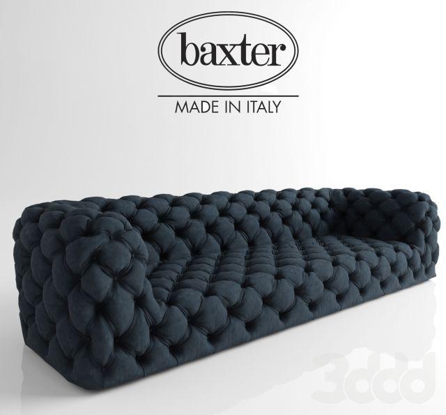 3d модели: Диваны - baxter chester moon