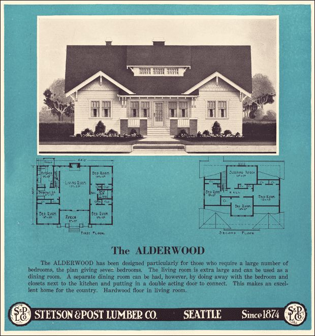 1000 images about sears kit houses on pinterest house for Stetson homes floor plans