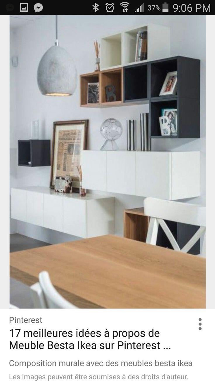 Les 23 Meilleures Images Du Tableau Mp Sur Pinterest Armoire De  # Meuble A Roulettes Besta Ikea Plaque Hetre