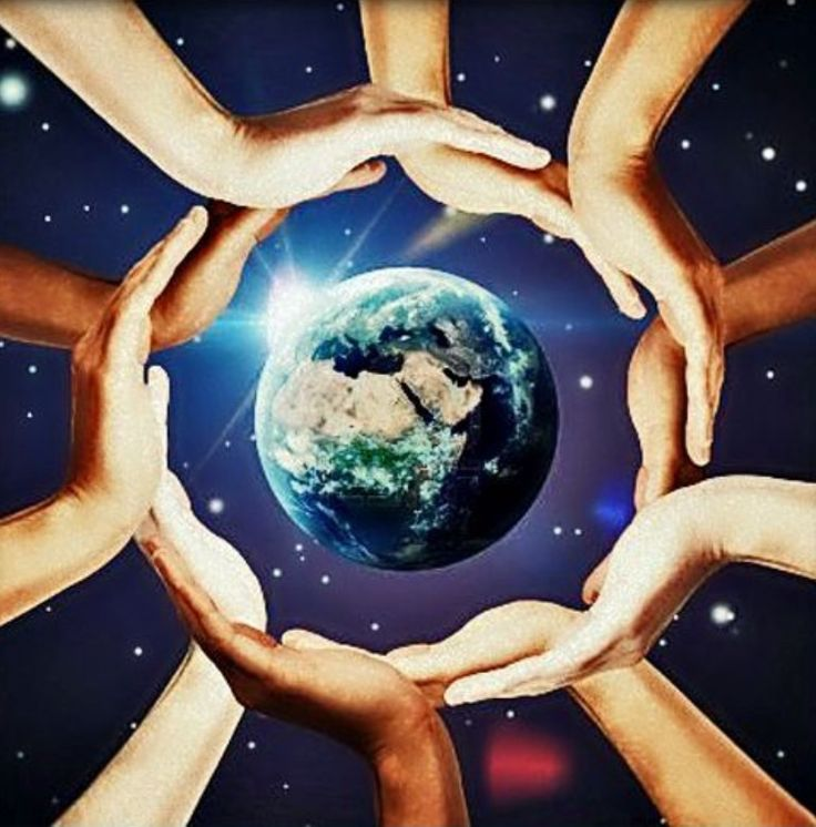 11031291 Conceptual Symbol Of The Earth With Multiracial Human