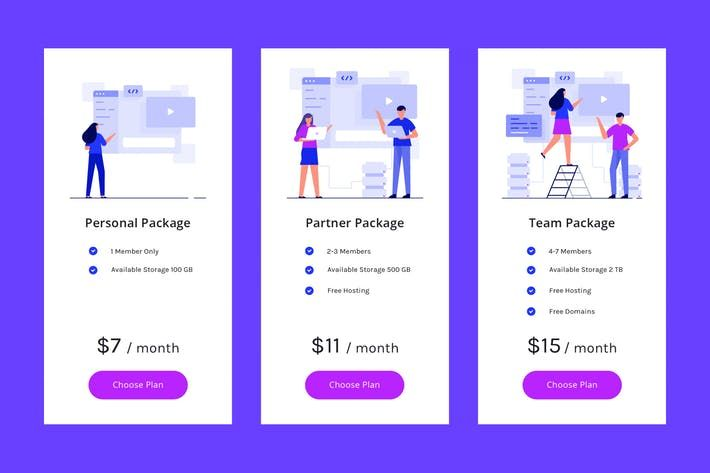 Pricing Table Vol 5 By Deemakdaksinas On Envato Elements