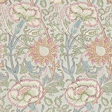 Pink & Rose tapeter från William Morris hos Engelska Tapetmagasinet. Historisk multi tapet. Köp fraktfritt online eller besök butiken i Göteborg.