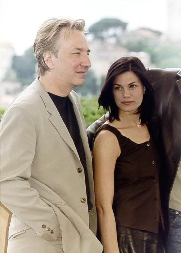 Alan Rickman and Linda Fiorentino