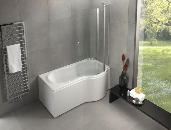 p form bath and shower prima kombi svenska badkar svenska badkar massagebad ba. Black Bedroom Furniture Sets. Home Design Ideas