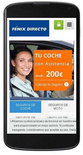 Fénix Directo Móvil - accede a los datos de tu póliza, consulta un siniestro, entra en CLUB FÉNIX a cualquier hora desde tu dispositivo móvil ► https://www.fenixdirecto.com/es/fenix-directo/mobile