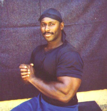 """Dennis """"Big Herc"""" Brewer, one of the Original W/S Crips predating the """"sets"""" era. (Photo: '80s) #ogcrip #crip"""