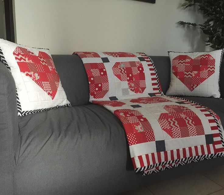 Yaaay it is done just on time ready for valentine. A set of throw and cushions  #quiltsofinstagram #quiltblocks #redandwhite #valentines #heartquilt #heartshape #quilting #quilt #msqcshowandtell #lapquilt #scrappyquilt #sewing #sewinglove #dubai #dubaicraft #pattern #throws #mydubai #stitches #stitching #quiltmarket #patchwork #patchworkparty #patchworkquilt #cozy #cushion #couchpillow #couch