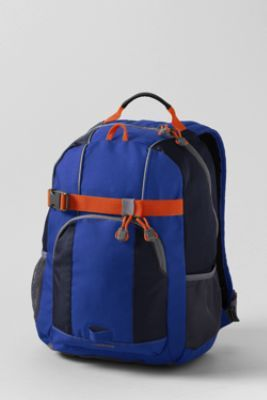School Uniform Solid ClassMate Small Backpack from Lands' End