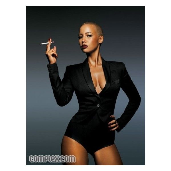 Complex - August 2009 - Amber Rose - NSFW > Fashion Pictures & Videos ❤ liked on Polyvore featuring models