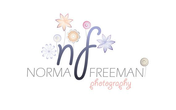 Premade Logo Design  Flowers Logo  Photography by GraphicNStyle