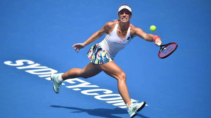 Sydney/Hobart - Eine Woche vor den Australian Open ging die Generalprobe für die Weltranglistenerste Angeqlique Kerber in die Hose. Sie scheiterte früh, ebenso wie Kollegin Petkovic.
