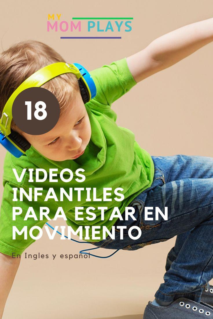Haz clic para ver esta lista de 18 canciones con video  para tener a tus hijos ejercitados y en movimiento. Son canciones en español y en ingles. Incluye 4 videos de ejercicios para niños como yoga y zumba. Cool Kids, Activities For Kids, Sons, Zumba, Kato, Amelie, Mom Blogs, Boards, Crafts
