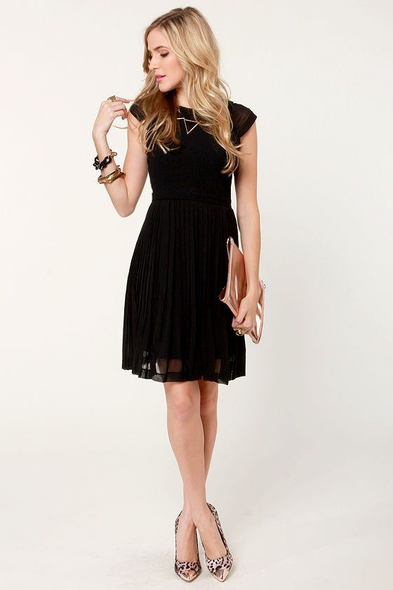 Black dress for teens — pic 8