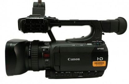 Canon XF-105 HD Camcorder  This little thing has it all, even night vision!