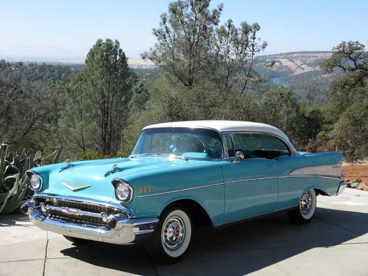 1957 #Chevrolet Bel Air Coupe – #Lease with Premier, #Russo&SteeleAuction #Scott…