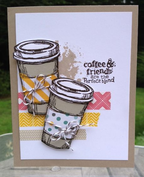 "Stampin' Up!""s Perfect Blend and Gorgeous Grunge stamp sets. www.mailsomethingpretty.com"