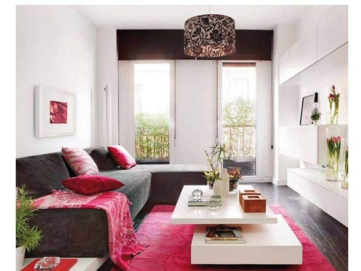 134 best decoraci n de salas al estilo moderno images on for Decoracion de living