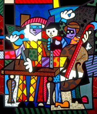 Spanish Sensations by Romero Britto.