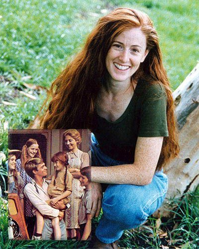 The Waltons Tv Show - Kami Colter as Elizabeth. SO glad she kept her beautifully long hair.