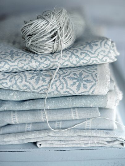 Peony and Sage Linens, Living Pretty x