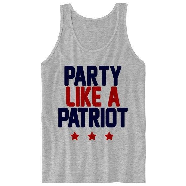 4th of July Tank Top Ladies Women Shirt Fourth of July Shirt Land of... ❤ liked on Polyvore featuring tops, shirts, tank tops, cut loose shirt, navy shirt, military fashion, army tank top and military style shirt