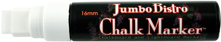 Bistro Jumbo Chalk Marker - White