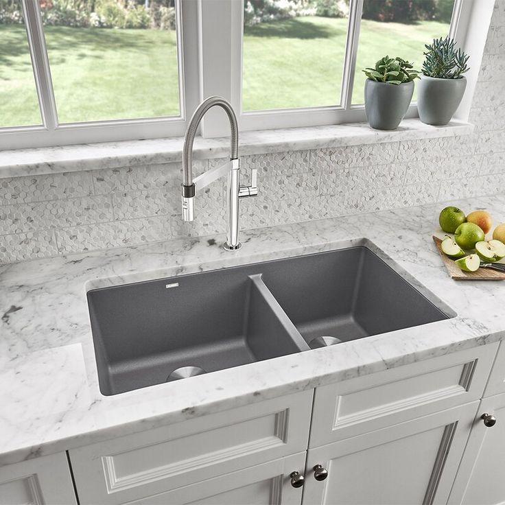 Pin By Laura Barron On Dapur In 2020 Undermount Kitchen Sinks Best Kitchen Sinks Composite Kitchen Sinks