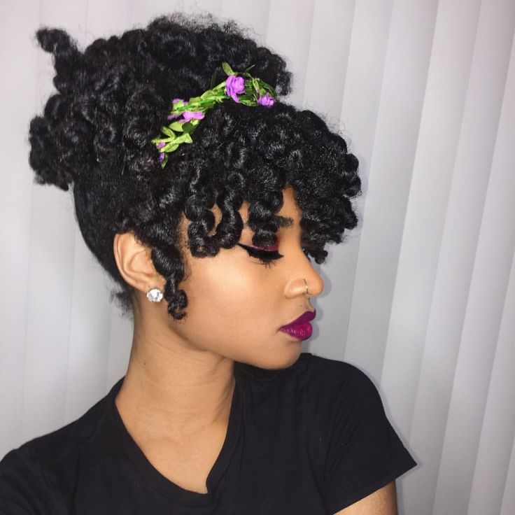 Natural Hairstyles 45 easy and showy protective hairstyles for natural hair Find This Pin And More On Natural Hair By Lovemstee