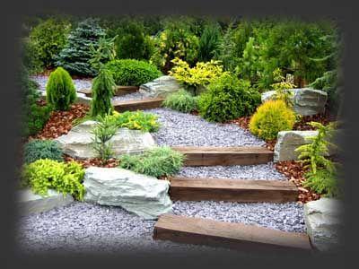 podkłady kolejowe ogród - Szukaj w Google
