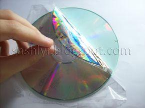 Sashlyr: Arte y decoración: Tutorial: Como reciclar cd's