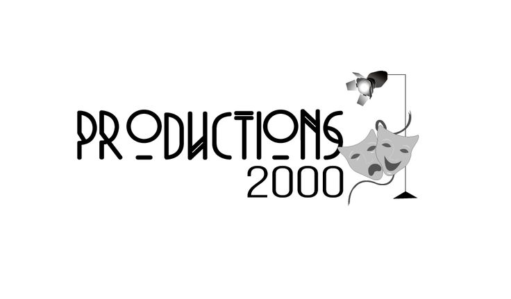 2016 Logo redesign for Productions 2000, an educational theatre company.