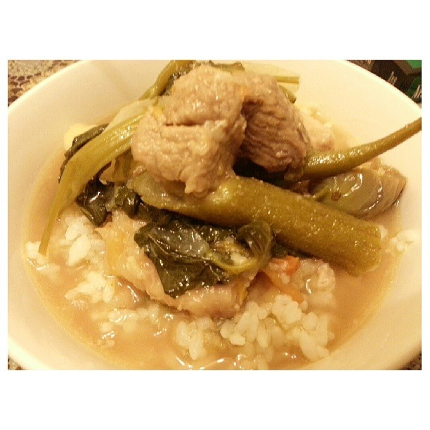 #sinigang for #yummy#dinner#filipino#food#philippines#シニガン#晩ごはん#フィリピン#料理