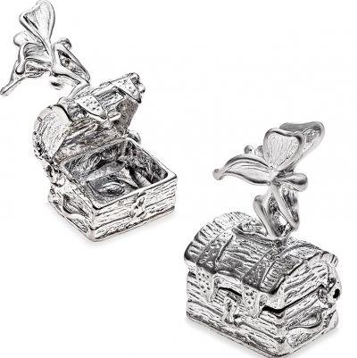 Box - TREASURE FAIRY KEEPER - Sterling Silver