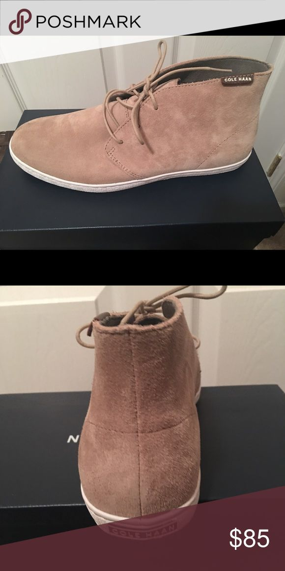 Cole Hann Suede shoes Cream Suede shoes brand new Cole Haan Shoes