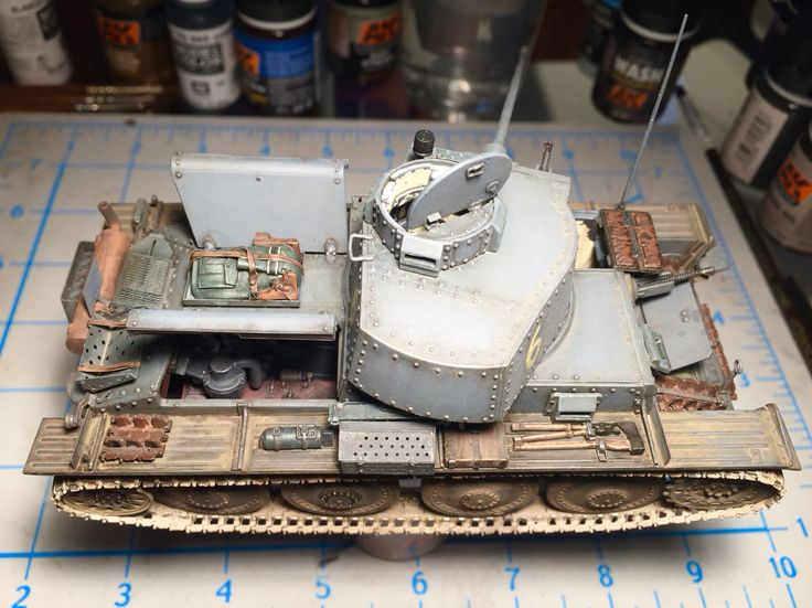 Initial weathering. Pz 38(t) Ausf.G dragon #models with #Friulmodellismo tracks and #voyagermodel detail set. #tank #38(t)   #panzer