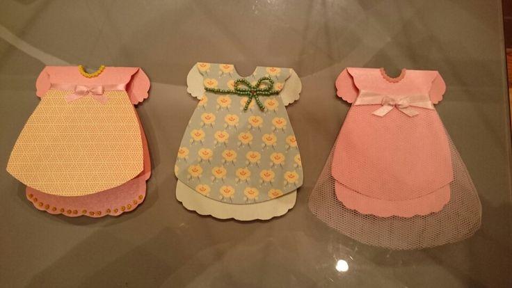 Baby kort, baby kjoler, barnedåb, barselskort