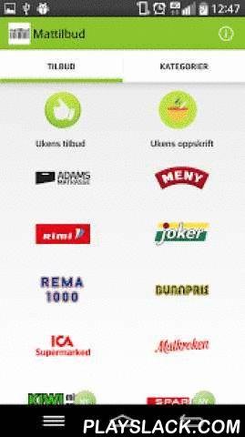 Mattilbud  Android App - playslack.com ,  Med applikasjonen Mattilbud får du en enkel oversikt over alle tilbud fra alle matbutikker i Norge! Mattilbud velger også ut ukens beste tilbud og kombinerer gode tilbud ilag med enkle middags oppskrifter.Vi vil til enhver tid gjøre vårt ytterste for å holde alle tilbud oppdaterte.Mattilbud inkluderer nå Meny, Rimi, Joker, Rema 1000, Bunnpris, Ica Supermarked, Ica Matkroken, Kiwi, Spar, Coop Prix, Coop Mega, Coop Obs, Coop Extra, Coop Marked…