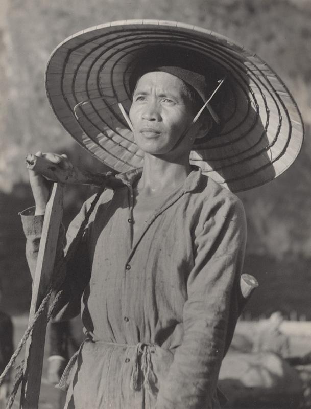 Ján Cifra - Vietnam - portréty. Roľník