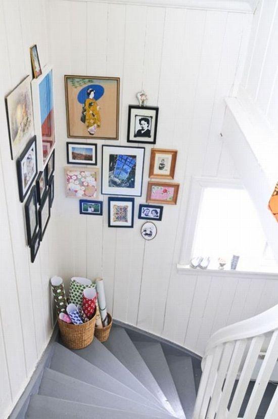billeder på trappeopgang