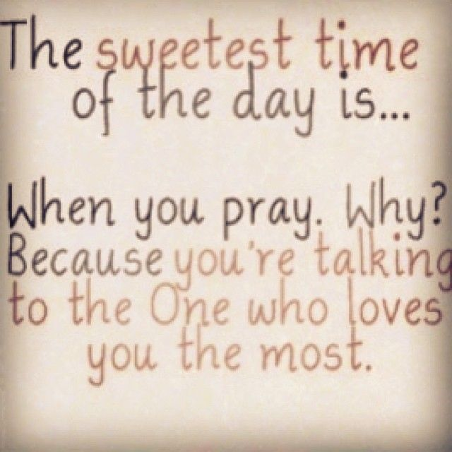the ONE who loves you the most :)